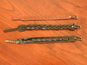 Bracelets tressés 20€