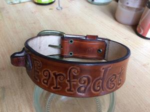 Collier de chien personnalisé Farfadet