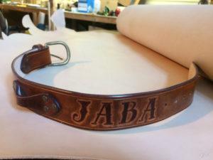 """Collier de chien personnalisé """"Jaba"""""""