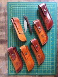 Etuis de couteaux pliants (à partir de 45€)