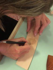 Stage de gravure Création d'un bracelet