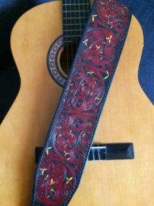 """Sangle de guitare """"Celtique"""" 400€"""