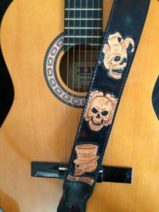 """Sangle de guitare """"Mr Rock"""" 280€"""