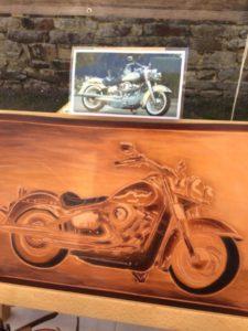 "Tableau "" Harley Davidson "" 170€"